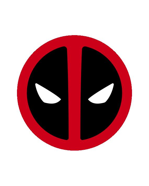 Pegatina Deadpool Símbolo Egresaditos Deadpool Dead Pool