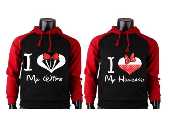 3e4532af60 I Love My Wife I Love My Husband Couple Hoodies by buyfor247 ...