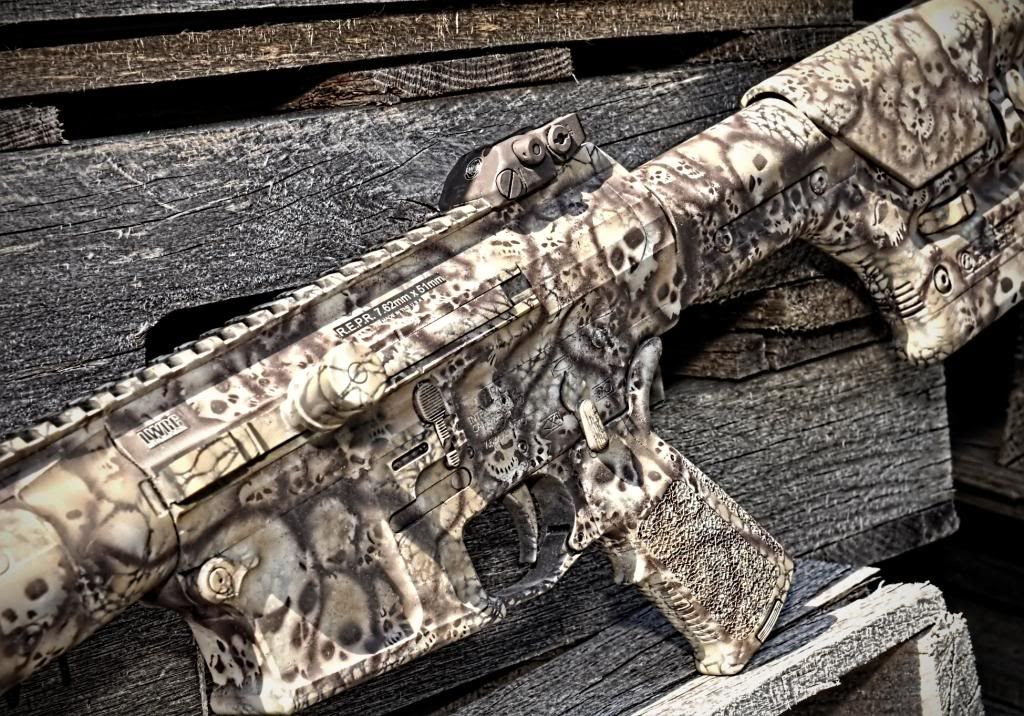 how to make camo pattern with spray paint