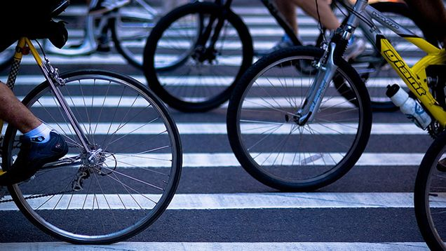 Walking Or Biking To Work May Make You Happier With Your Commute Bicycle Bike Bike Ride