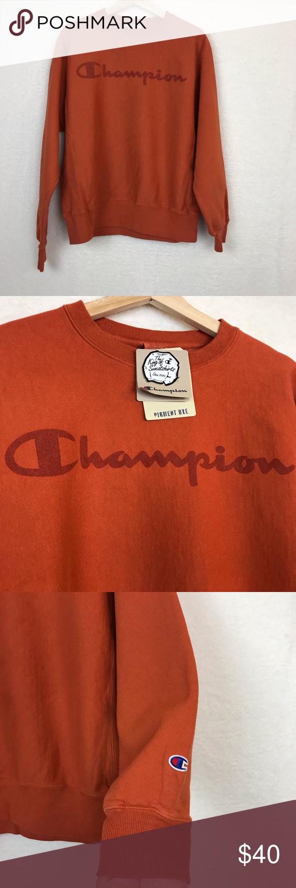 Champion Men S Crewneck Vintage Logo Crewneck Vintage Vintage Sweatshirt Vintage Logo [ 1740 x 580 Pixel ]