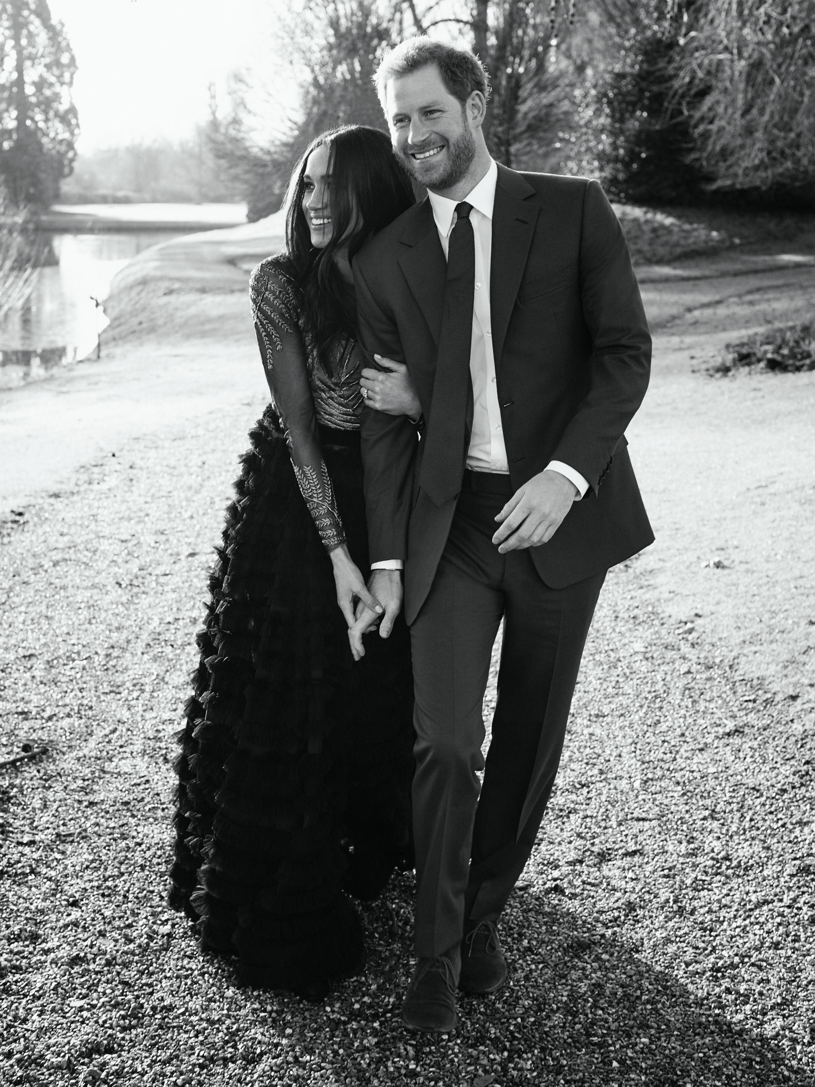9358f989fc8c Prince Harry and Meghan Markle release official engagement photos ...