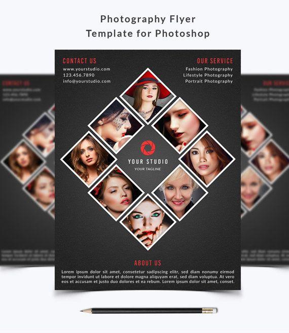 Photography Flyer Template 021 For Photoshop By Nmdesignstudioshop Flyer Vorlage Vorlagen Fur Flyer Flugblatt Design