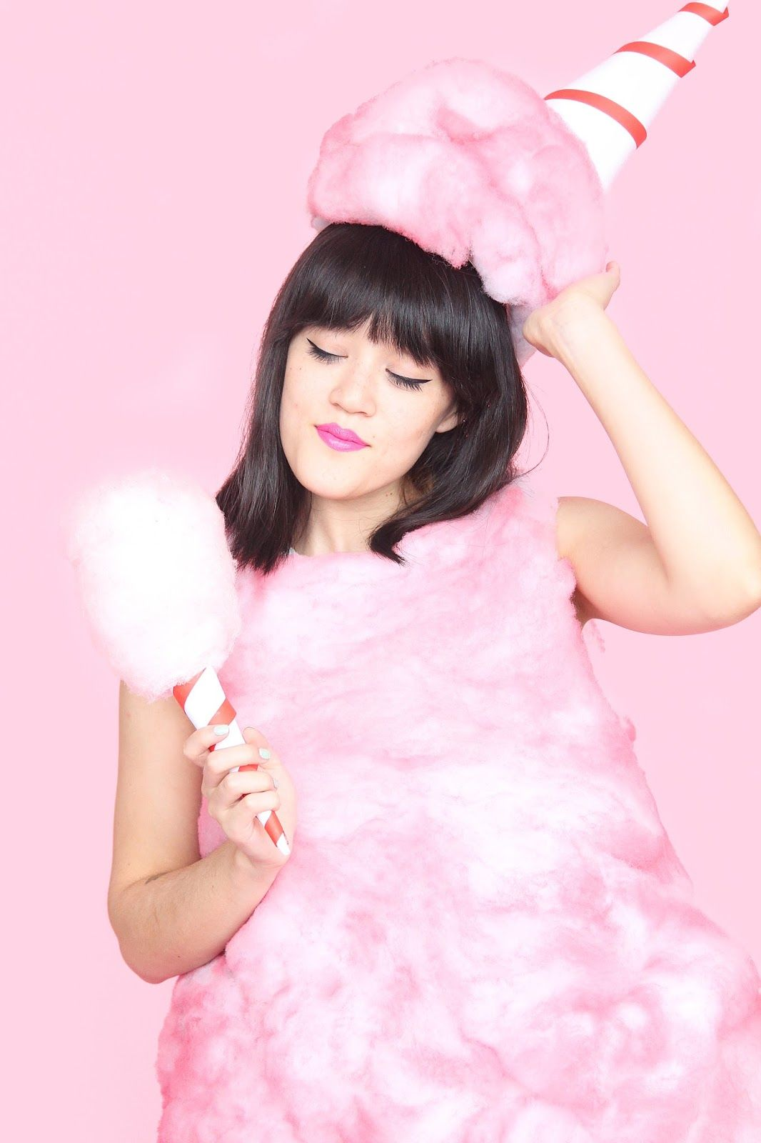 DIY Cotton Candy Halloween Costume | Aww Sam Costume Party ...