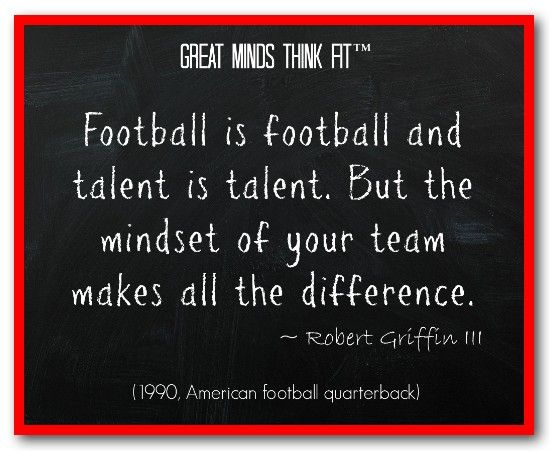 Football Motivational Quotes: Famous #Football #Quote By Robert Griffin III