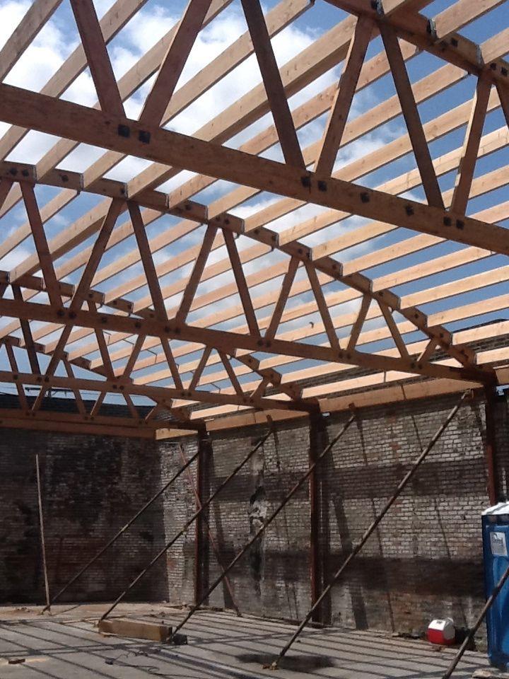 New Trusses By Bowstringtruss Com Roof Trusses Building