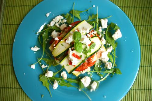 Raw lasagne med squash og urter | Snaddervaffel