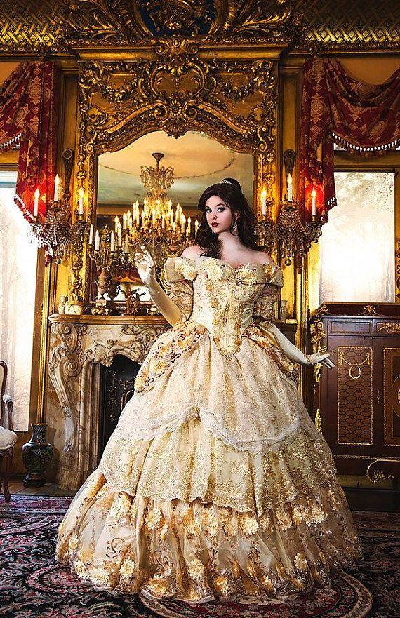 Custom Belle Upscale Halloween Costume Adult Fantasy Sparkle  sc 1 th 279 & Custom Belle Upscale Halloween Costume Adult Fantasy Sparkle ...