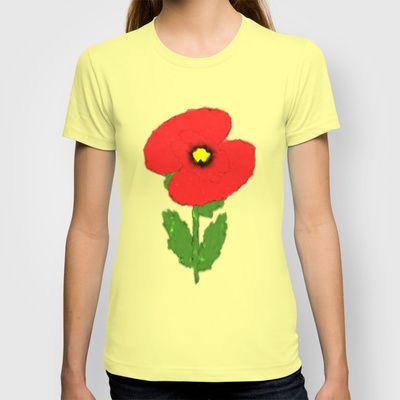 #Poppy Design #T-shirt
