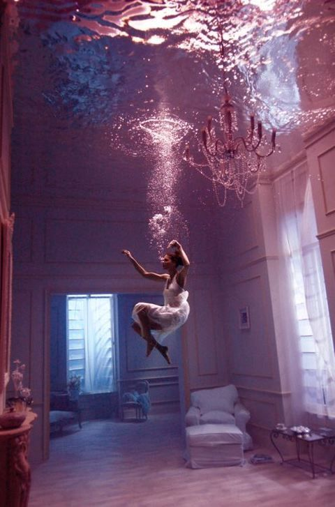 Diving into a different world