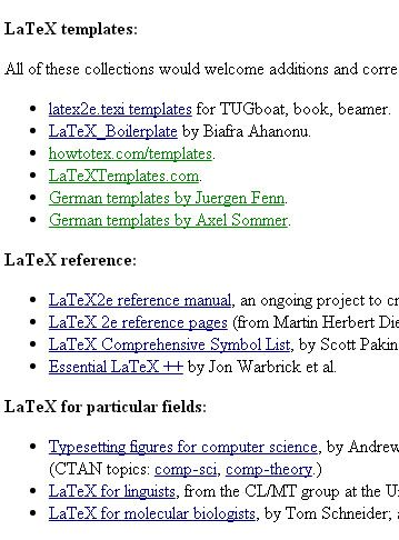 Pin by Lusie on LaTeX Templates | Pinterest | Latex and Template