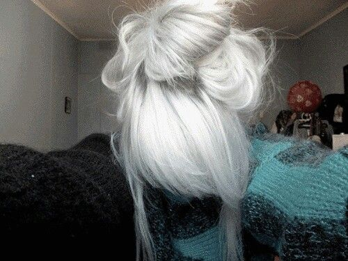 Silver hair that I want!!