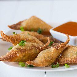 Crab Rangoon #crabrangoondip Crab Rangoon Recipe | Brown Eyed Baker #crabrangoondip
