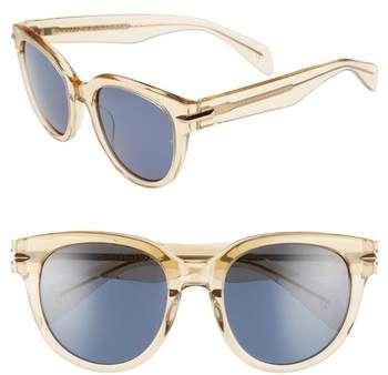 9f6fb290fe8 Rag   Bone 54mm Cat Eye Sunglasses