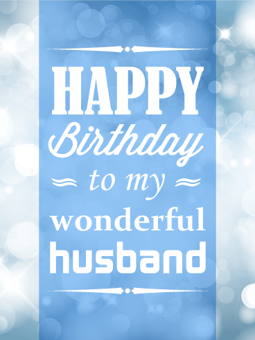 what should i buy my husband for his birthday