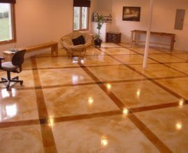 Modern Concrete Floor Design Ideas To Beautify Your Home Maple