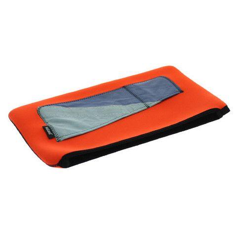 Shop Sealand Charlie 15 Inch Laptop Case - Orange/Blue Yacht Sail | Benny's Boardroom