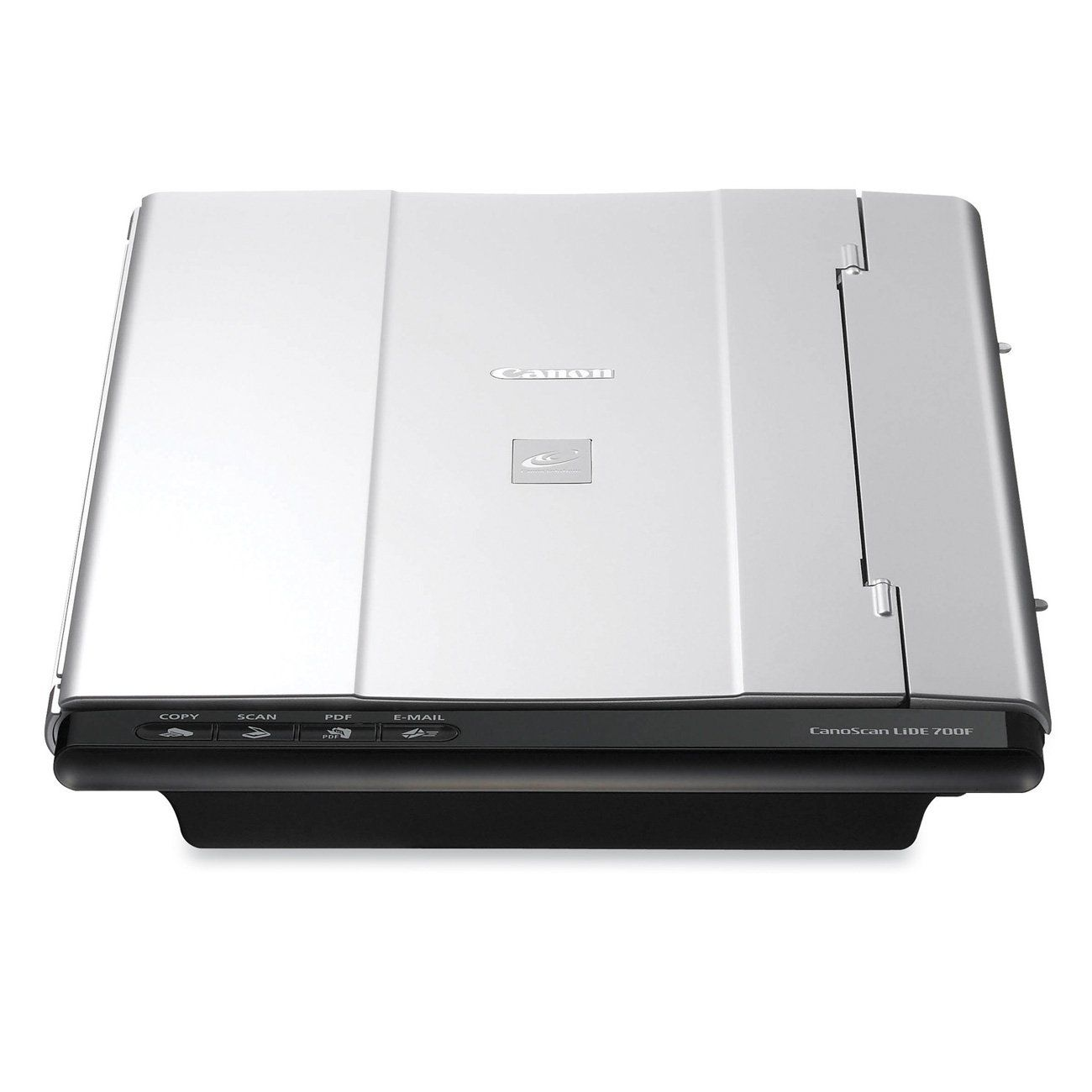Canon CanoScan 3297B002 LiDE 700F Color Image Scanner. Auto Scan Mode: automatically adjusts settings by detecting what you are scanning. High speed letter size color scanning in approximately 12 seconds. Low Power Consumption; one USB cable for data and power. 9600 x 9600 Maximum Color Resolution with a Vivid 48 bit Color Depth. Four EZ Buttons Copy/Scan/E-mail/Create PDF Files Simply with The Push of a Button. 180 Degree Open/3 Way Position/Auto Scan Mode/Image Correction and More. One...