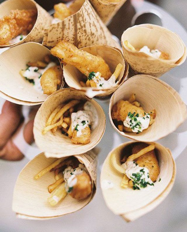 Simple Wedding Reception Food: 22 Finger Foods That Give Guests A Taste Of Your Wedding