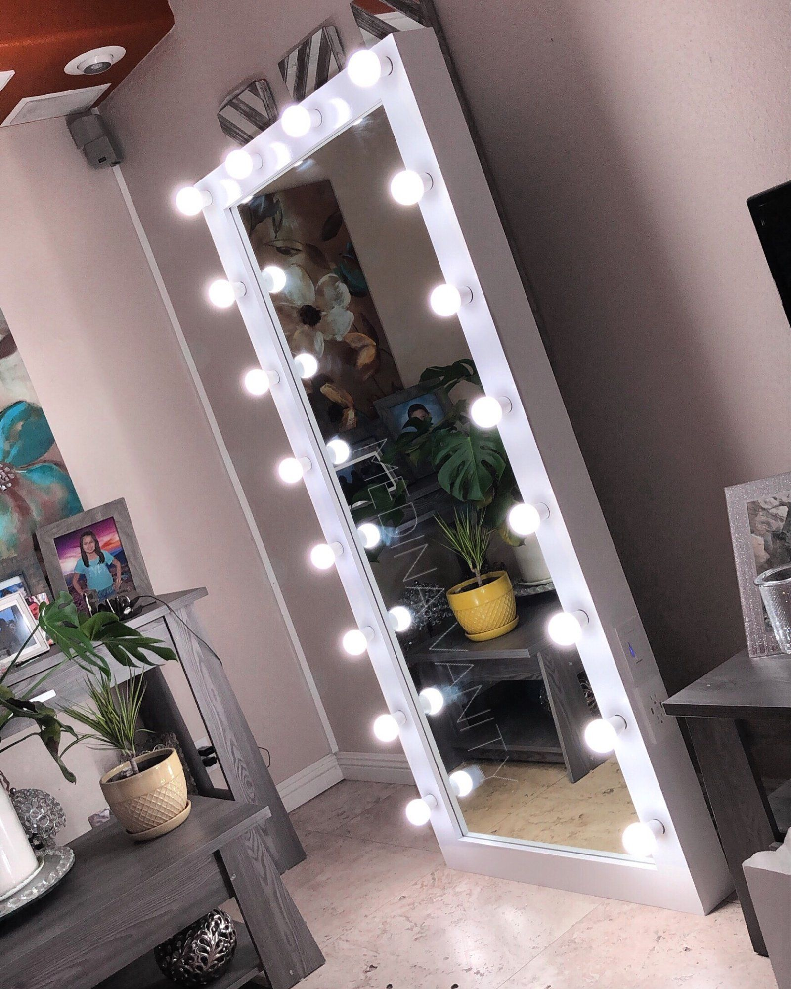 Pin On Lynne Full length mirrors with lights