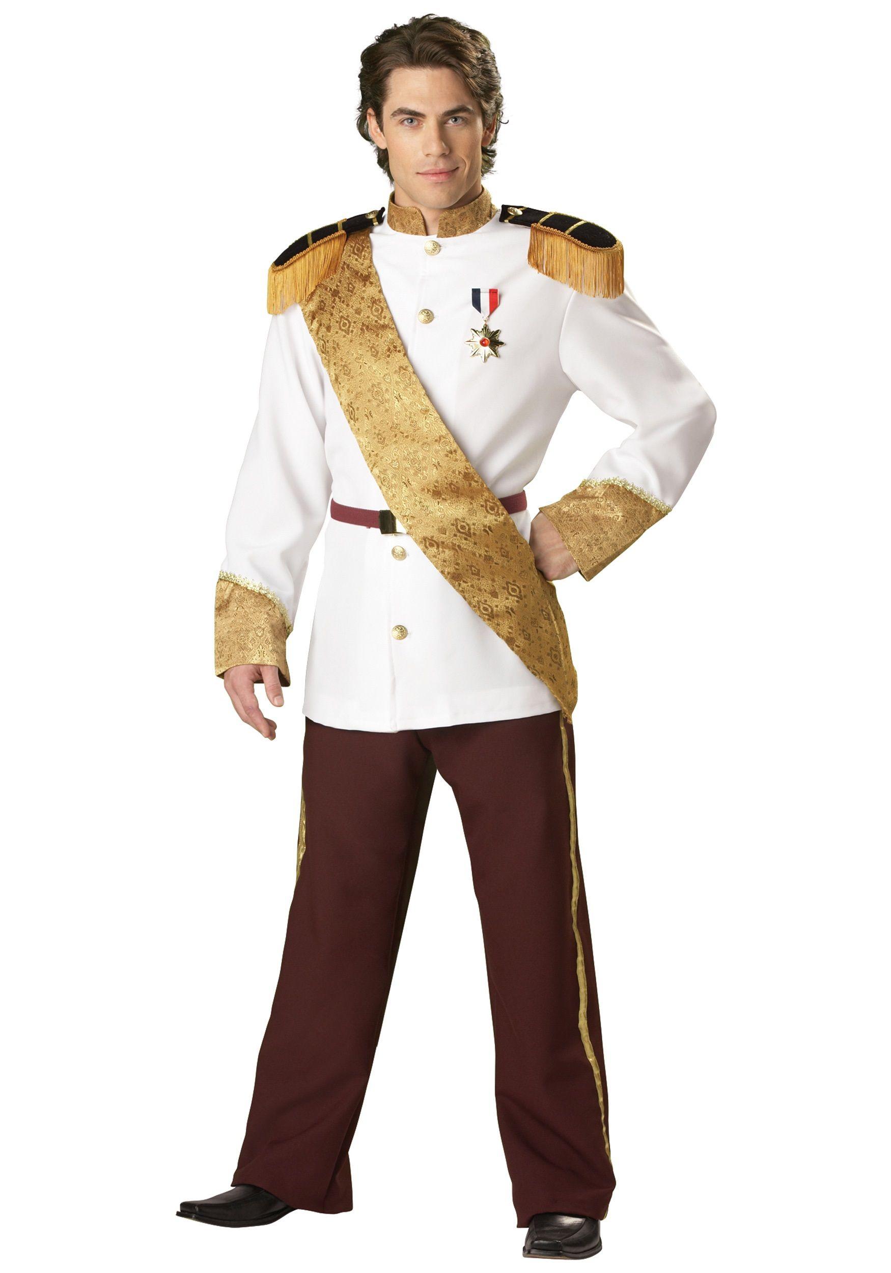 Elite Prince Charming Costume   Prince charming costume, Costumes ...