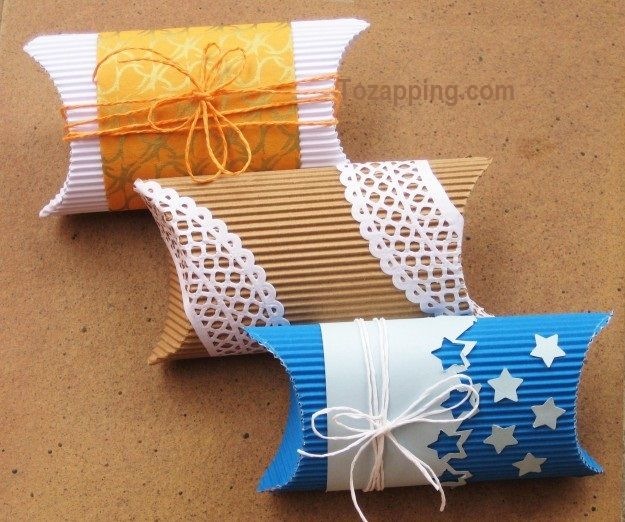 Cómo hacer cajas para regalo   creative tags and bags   Pinterest ...
