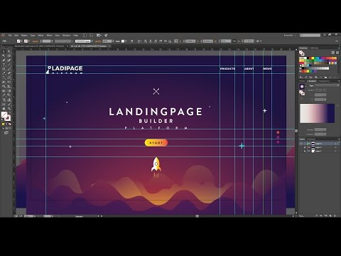 How To Design A Creative Web Layout Illustrator Tutorial Design 8 Youtube Web Design Trends Illustrator Tutorials Web Layout