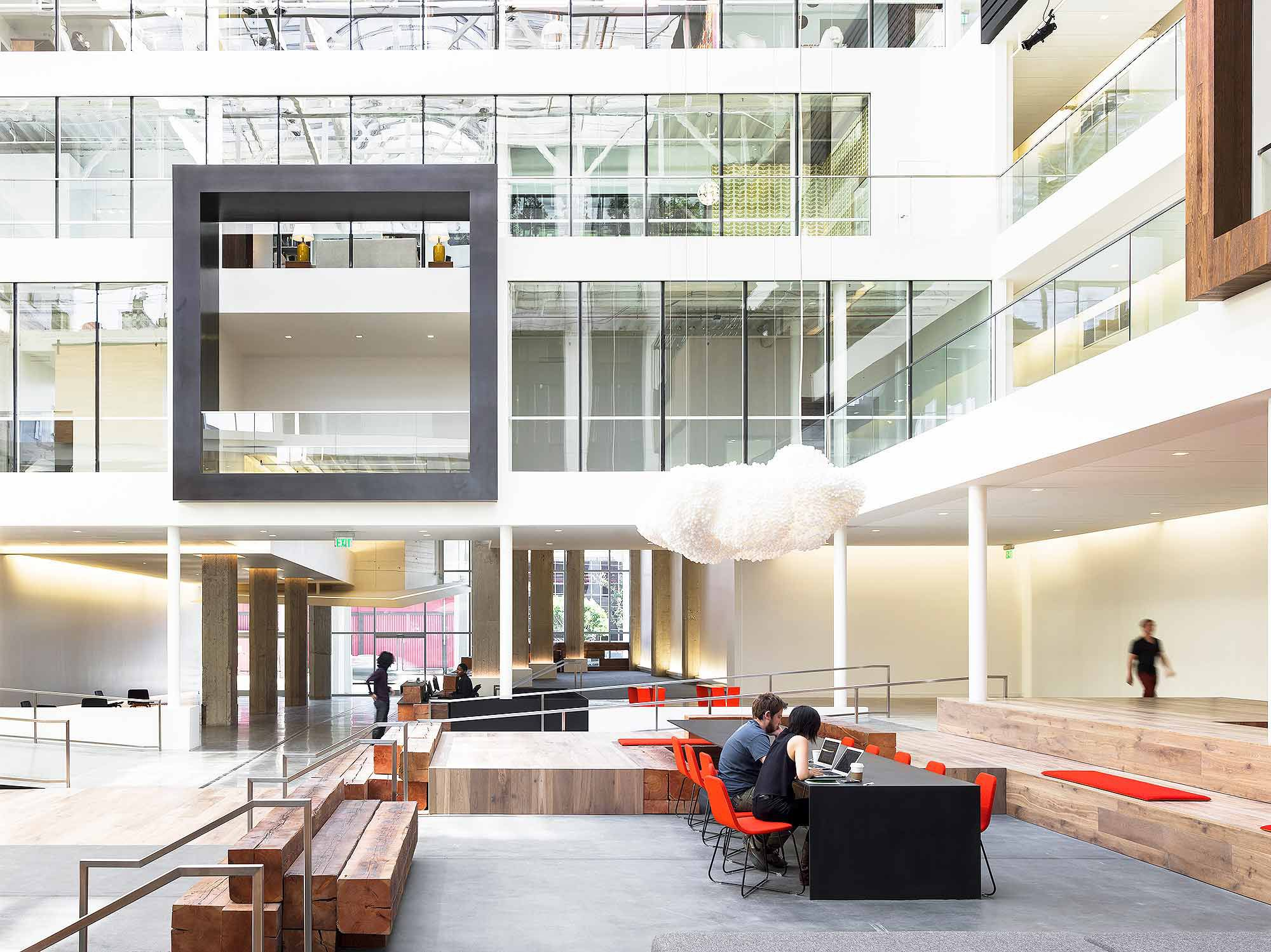 The future of workplace gensler interiors pinterest for Office design of the future