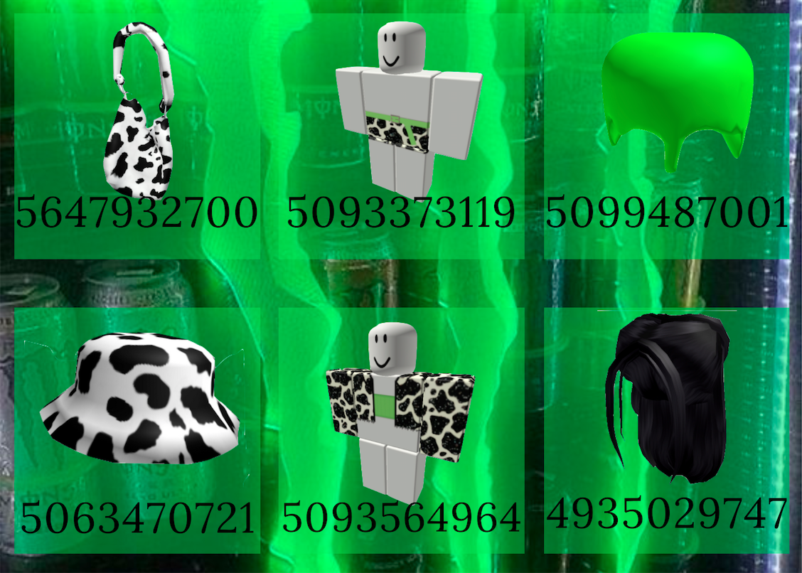 DO NOT REPOST🐮🐄💚 in 2020 Roblox pictures, Roblox codes