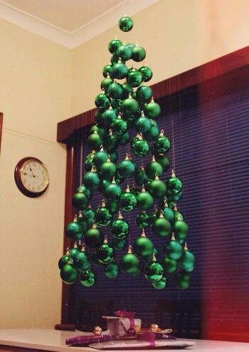 Floating All Green Tree!!! Bebe\u0027!!! Unique!!! Christmas Trees