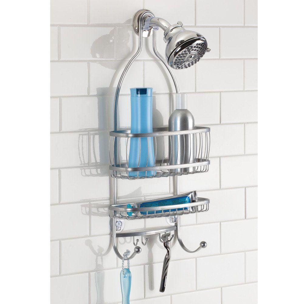 Shower Caddy Bathroom Organizer Shelves Rack Holder Storage Bath