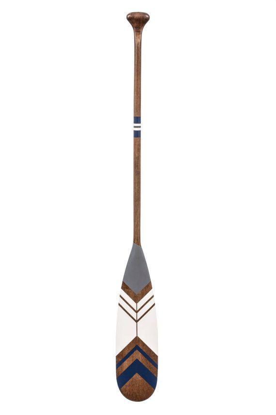 Decorative Canoe Paddle Hand Painted On Maple Wood Oar Decor Painted Paddles Canoe Paddle Decor
