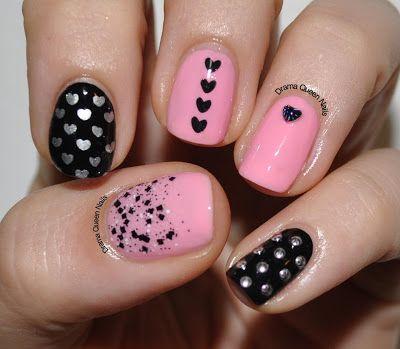 Drama Queen Nails: Valentines Day - Round 2