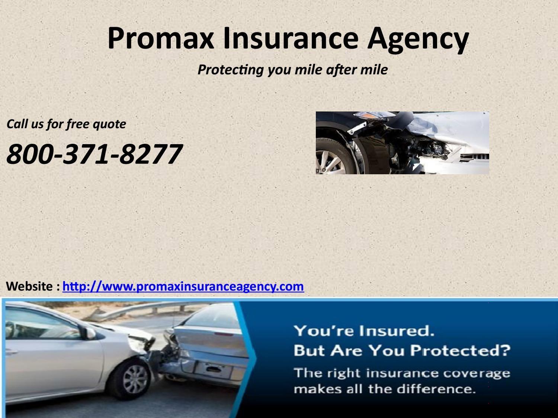 Mercury Insurance Quote Promax Insurance Agency  Insurance Agency Cheap Quotes And Newspaper