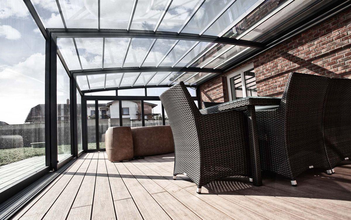 Veranda Retractable V18 Veranda Retractable Veranda Abri Terrasse