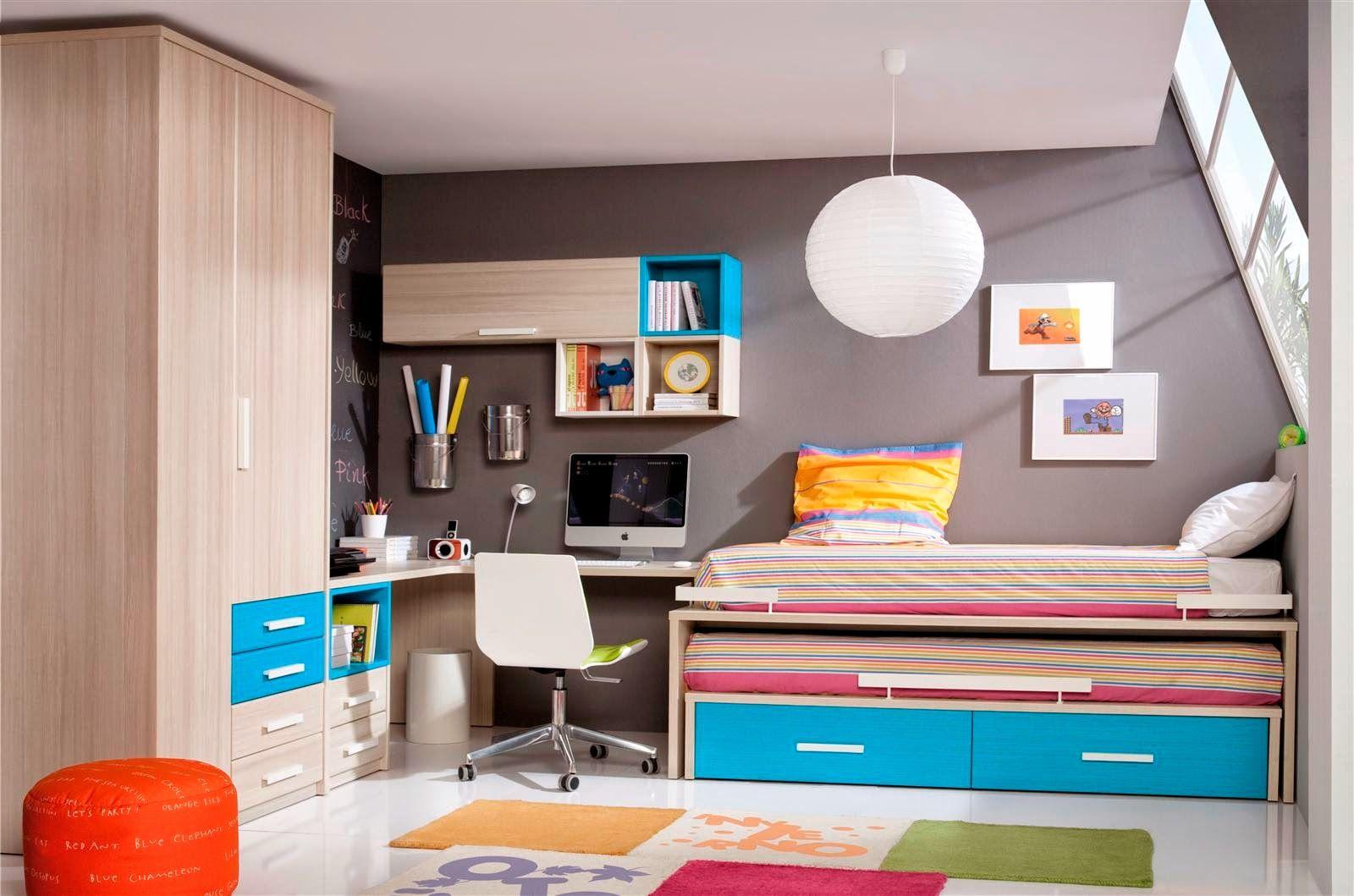15 ideas para decoración de habitaciones juveniles pequeñas - http ...
