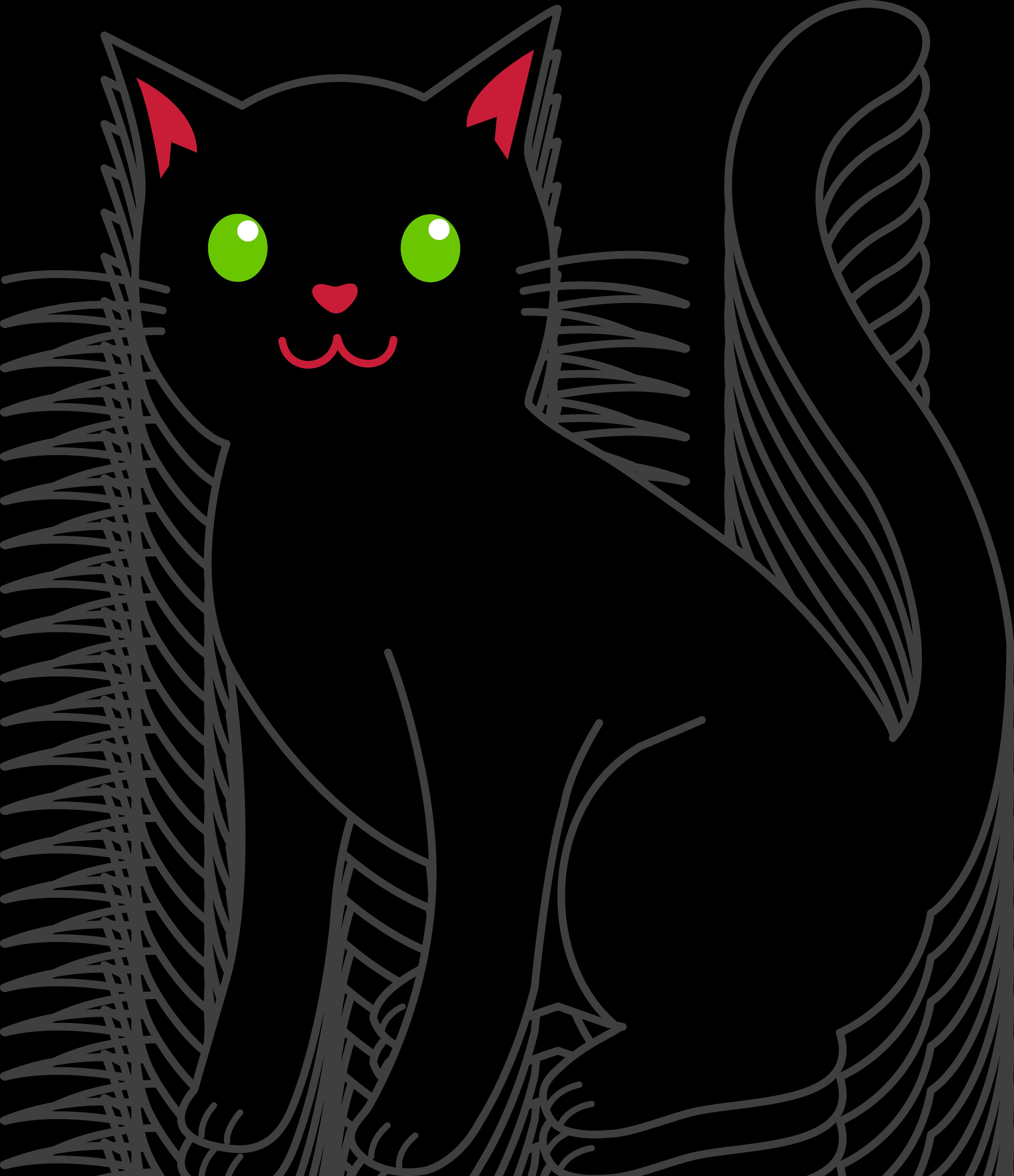 Halloween Black Cat 5476x6349