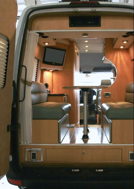 Sprinter Rv Conversion >> Camper Sprinter Rv Sprinter Conversion Minivan Camper
