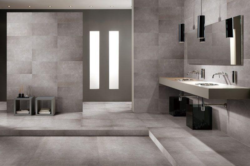 Lovely Fliesen In Betonoptik   Der Neue Trend Für Das Badezimmer