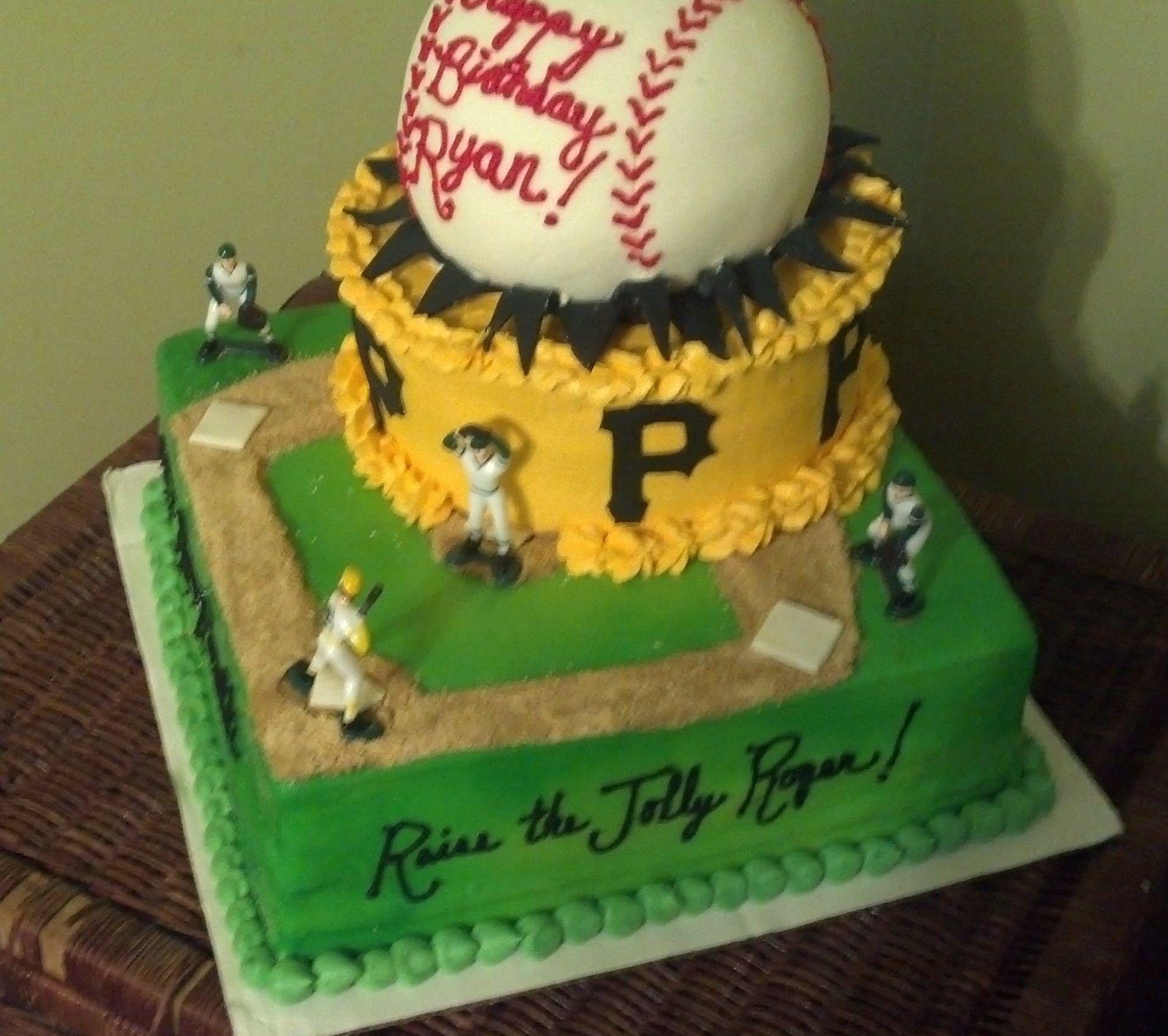 Pirates Baseball Cake