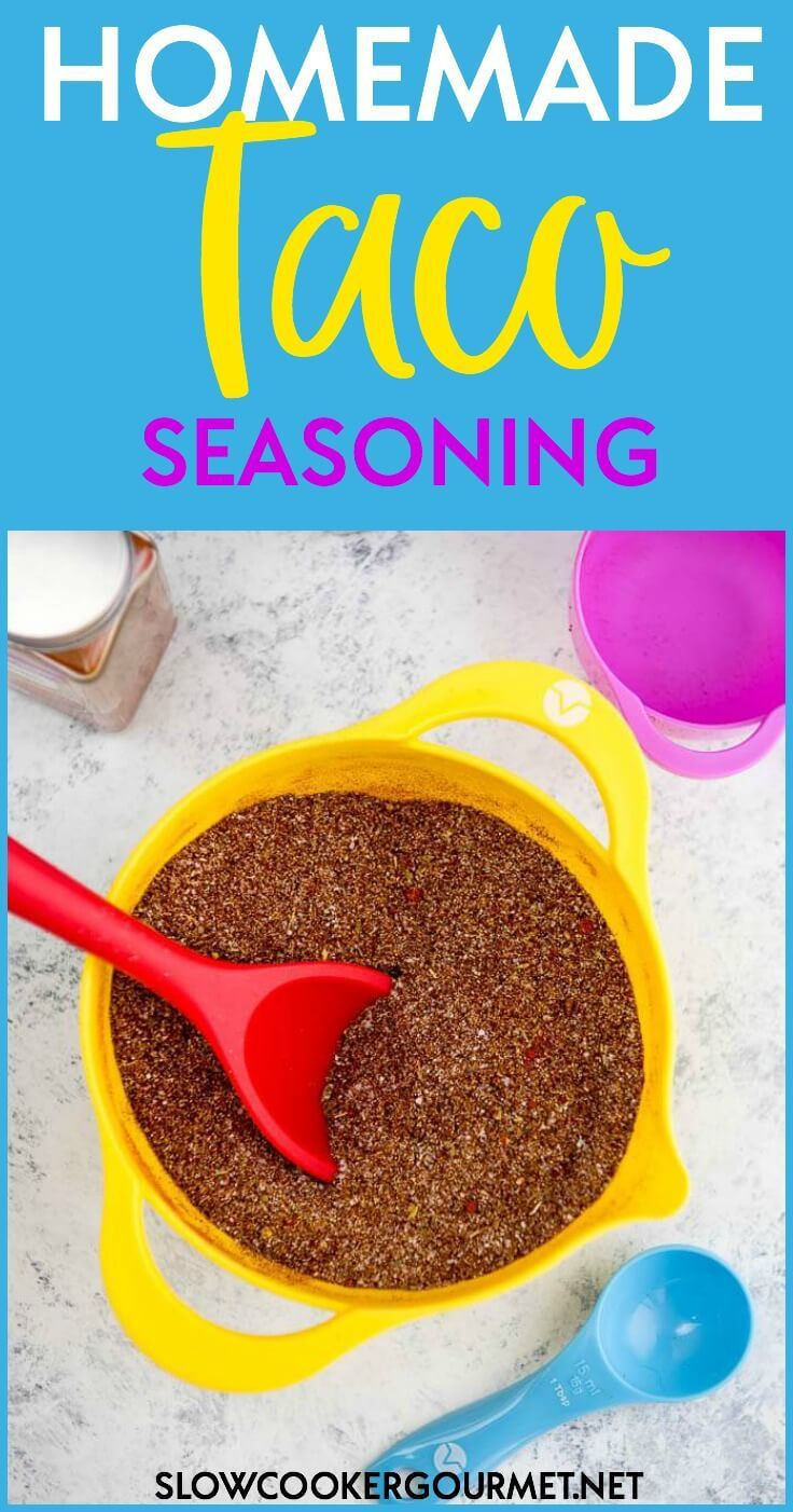 This is the BEST Homemade Taco Seasoning Recipe out there