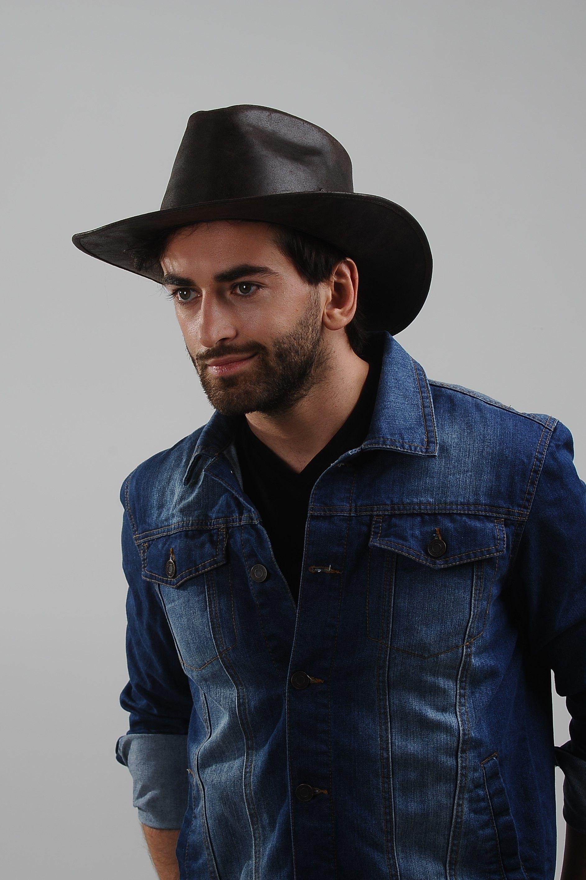 Buckaroo Genuine Leather Cowboy Hat Western Desert Wild Outback Western Cowboy Hats Cowboy Hats Leather Cowboy Hats