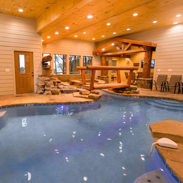 A Cabin The Only Place You Can Experience A Pool In The