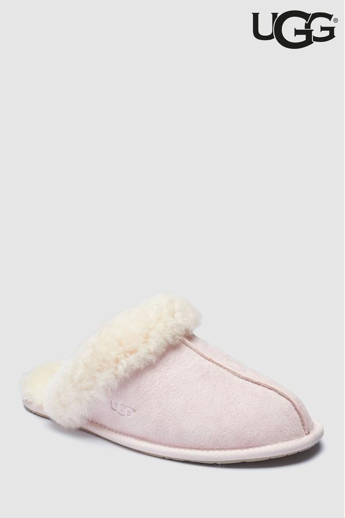 7845fbdc6c2 Womens UGG Seashell Pink Scuffette Slipper - Pink   Products   Pink ...