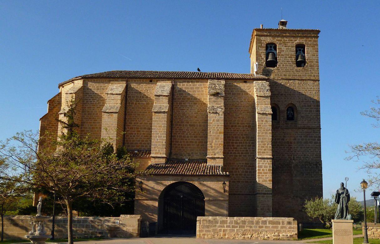 Iglesia de la Anunciación, Villatuerta, #Navarra #CaminodeSantiago #LugaresdelCamino