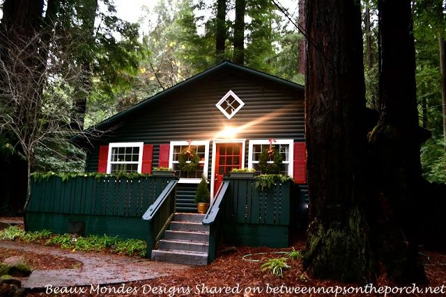 A cabin renovation restoration on the russian river for Russian river cabins guerneville