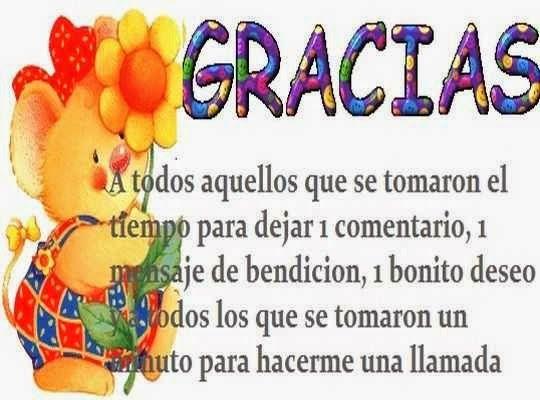 Gracias Atoda Mi Familia Y Amigos Del Facebook Por Tomarse