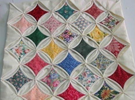 Easy Cathedral Window Quilt Kit w/Precut Fabric | Quilting ... : pattern for cathedral window quilt - Adamdwight.com
