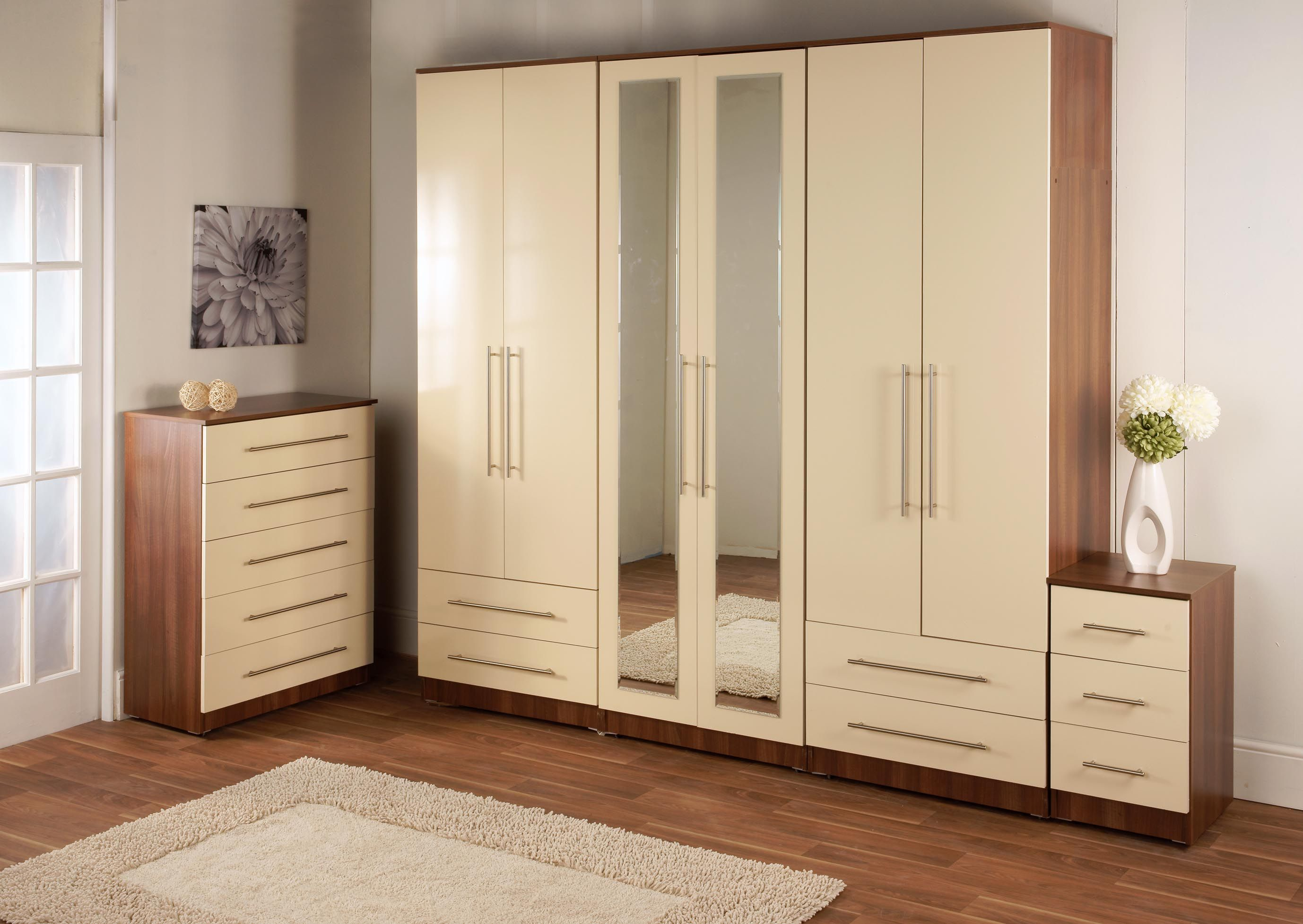 Almirah Design Schrank Tür Designs Moderne Schlafzimmer