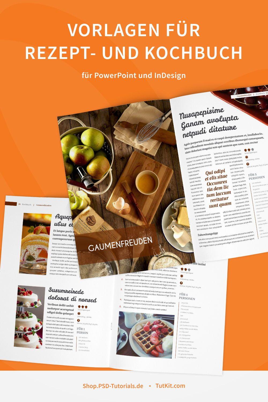 Kochbuch Und Rezeptbuch Vorlage Designs Layouts Fur Indesign Kochbuch Vorlage Kochbuch Kochbuch Design